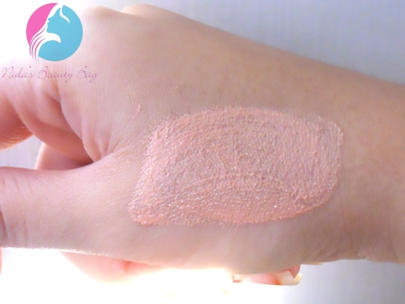 very me peach me perfect glow swatch2