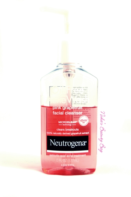 Neutrogena-oil-free-face-wash-pink-grapefruit