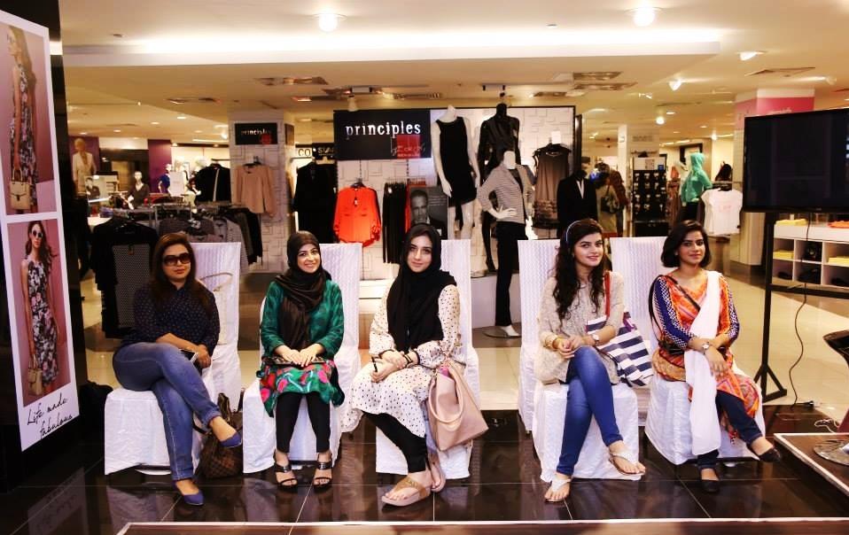 Mariam Arif, Myself, Rakhshanda, Faryal,Jadirah