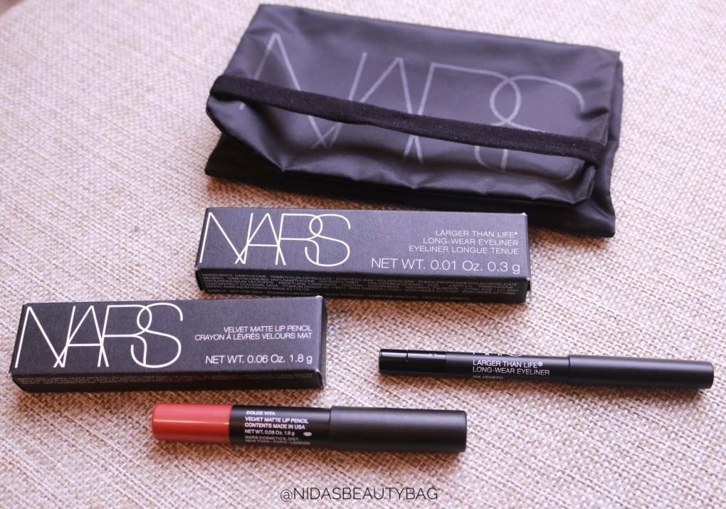 Super excited for NARS products 😍😍